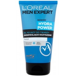 L`Oreal Men Expert Hydra Power Żel myjący do twarzy 150ml