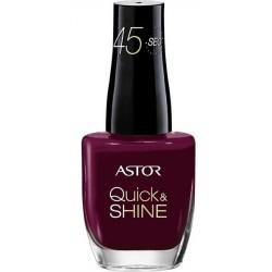 Astor Quick & Shine Lakier do paznokci 525 Loving Fuschia 8ml