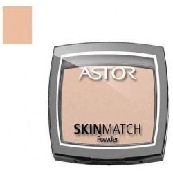 Astor Skin Match Powder Puder prasowany 100 Ivory 7g