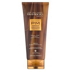 Alterna Bamboo Smooth Anti-Frizz Pm Overnight Smoothing Treatment Wygładzający balsam do włosów na noc 150ml