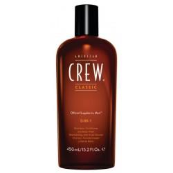 American Crew Official Supplier To Men 3-In-1 Szampon odżywka i żel do kąpieli dla mężczyzn 450ml