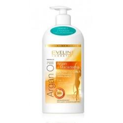 Eveline Argan Oil 3w1 Balsam do ciała ujędrniająco-nawilżający do skóry suchej 350ml