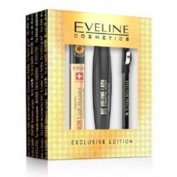 Eveline SOS multifunkcyjne serum do rzęs 10ml + Kredka do oczu Black 0,28g + Pogrubiający tusz do rzęs 10ml