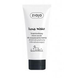 Ziaja Kozie Mleko Krzemionkowy micro scrub do oczyszczania twarzy 75ml