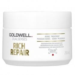 Goldwell Dualsenses Rich Repair 60s Treatment Maska do włosów zniszczonych 200ml