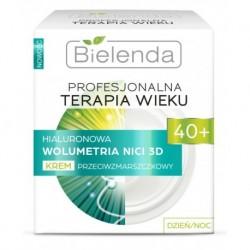 Bielenda Profesjonalna Terapia Wieku 40+ Hialuronowa wolumetra nici 3D krem przeciwzmarszczkowy dzień/noc 50ml