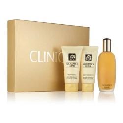 Clinique Aromatics Elixir Woda perfumowana 100ml spray + Balsam do ciała 75ml + Żel pod prysznic 75ml