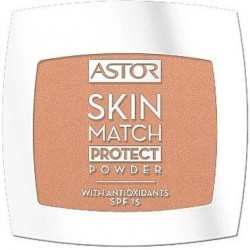 Astor Skin Match Protect Powder Puder prasowany 201 Sand 7g
