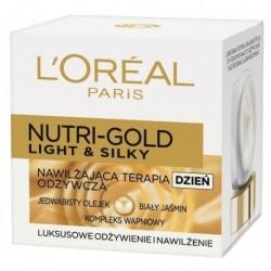 L`Oreal Nutri Gold Light & Silky Krem nawilżająco odżywczy na dzień 50ml