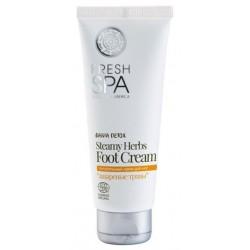 Siberica Professional Fresh Spa Staemy Herbs Foot Cream Odżywczy krem do stóp 75ml