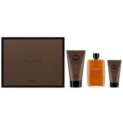 Gucci Guilty Absolute Pour Homme Woda perfumowana 90ml spray + Balsam po goleniu 50ml + Żel pod prysznic 150ml
