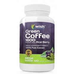 Wish Acai Berry Green Coffee 1600 Premium Plus Suplement diety 120 kapsułek