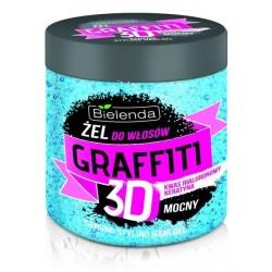 Bielenda Graffiti 3D Mocny żel do włosów z kwasem hialuronowym i keratyną 250g