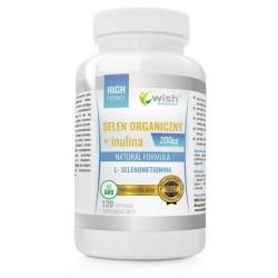 Progress Labs Natural Formula Selen Organiczny L- Selenometionina Suplement diety 120 kapsułek