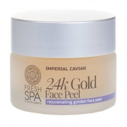 Siberica Professional Fresh Spa Imperial Caviar 24k Gold Face Peel Peeling do twarzy 24 karatowe złoto 50ml