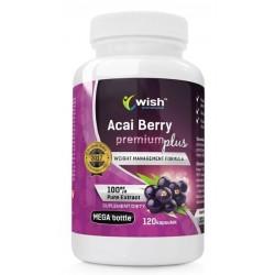 Wish Acai Berry Premium Plus suplement diety 120 kapsułek