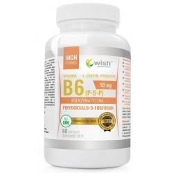 Wish Koenzymatyczna Witamina B6 suplement diety 60 kapsułek