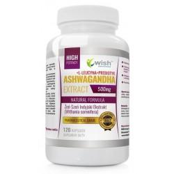 Wish Natural Formula Ashwagandha Żeń-Szeń Indyjski Suplement diety 120 kapsułek