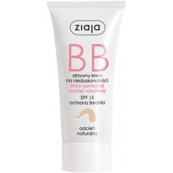 Ziaja BB Aktywny krem na niedoskonałości do skóry normalnej suchej i wrażliwej odcień naturalny 50ml