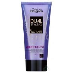 L`Oreal Tecni Art Dual Stylers Sleek Swing Smooth Żel + Krem nadający włosom naturalną gładkość Force 1 150ml