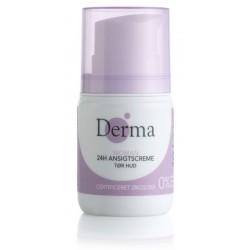 Derma Eco Woman 24H Ansigtscreme Krem do twarzy cera sucha 50ml