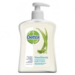 Dettol Antybakteryjne mydło w płynie aloes i witamina E 250ml