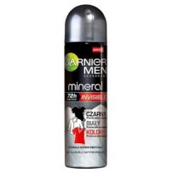 Garnier Mineral Men Black White Color Dezodorant 150ml spray