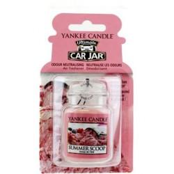 Yankee Candle Car Jar Ultimate Wiszący odświeżacz do samochodu Summer Scoop