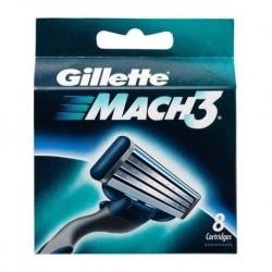 Gillette Mach 3 Wymienne ostrza do maszynki do golenia 8 sztuk