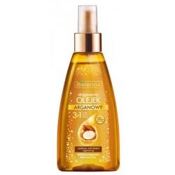 Bielenda Argan 3w1 Drogocenny olejek do ciała twarzy i włosów 150ml