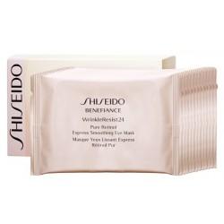 Shiseido Benefiance Wrinkle Resist 24 Płatki przeciwzmarszczkowe pod oczy 12 saszetek