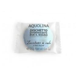 Aquolina Effervescent Bath Tablet Tabletka do kąpieli Cukier Puder/Icing Sugar 25g