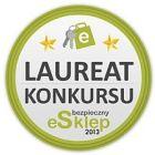 Laureat Konkursu Bezpieczny eSklep 2013!